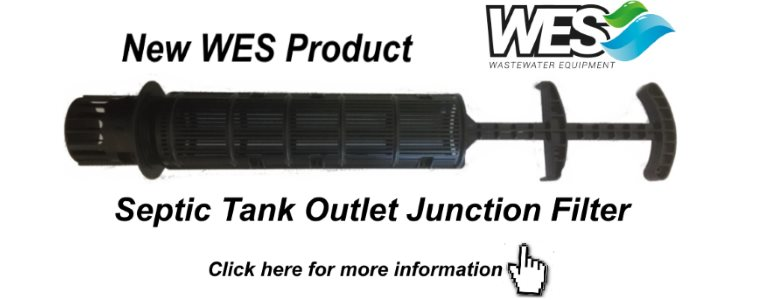 Septic Tank Outlet Junction Filter